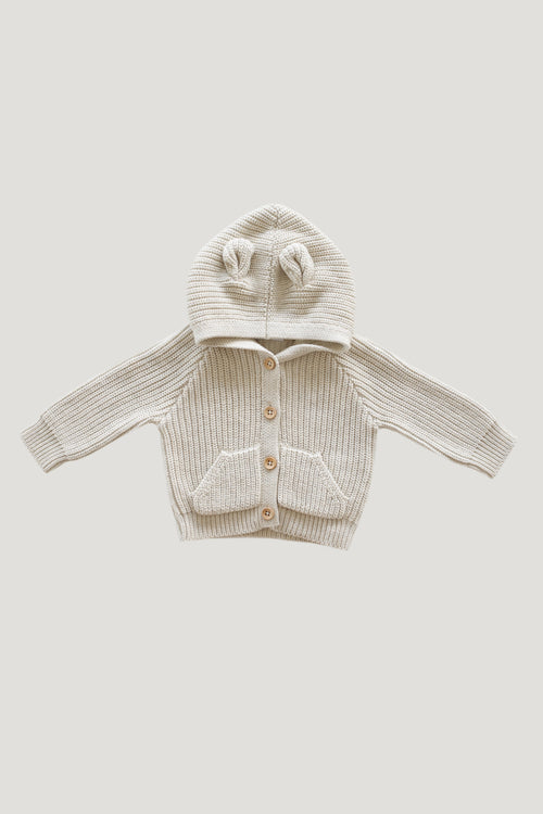 Bear Knit - Oatmeal Marle