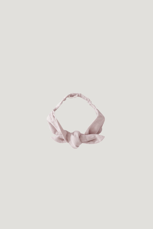 Organic Cotton Muslin Headband - Candy Floss