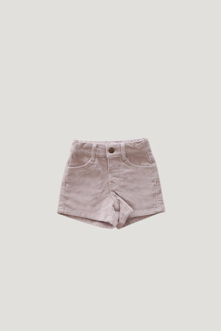 Daisy Denim Short - Periwinkle