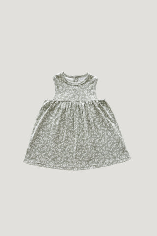 Organic Cotton Muslin Hazel Dress - Rose Dust