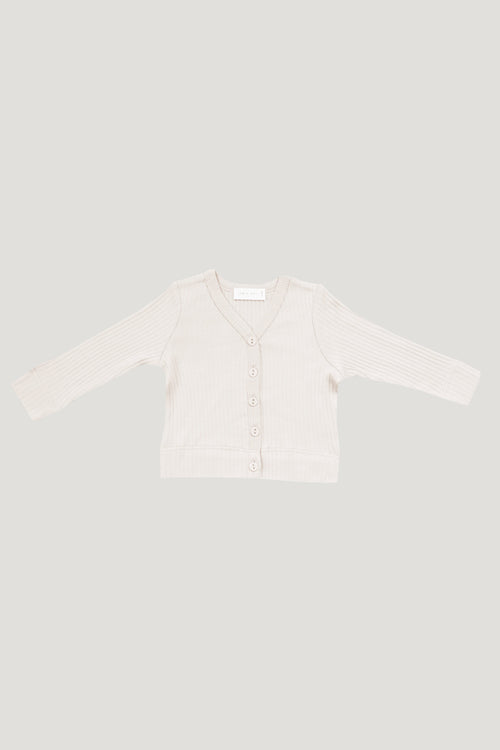 Cotton Modal Cardi - Milk
