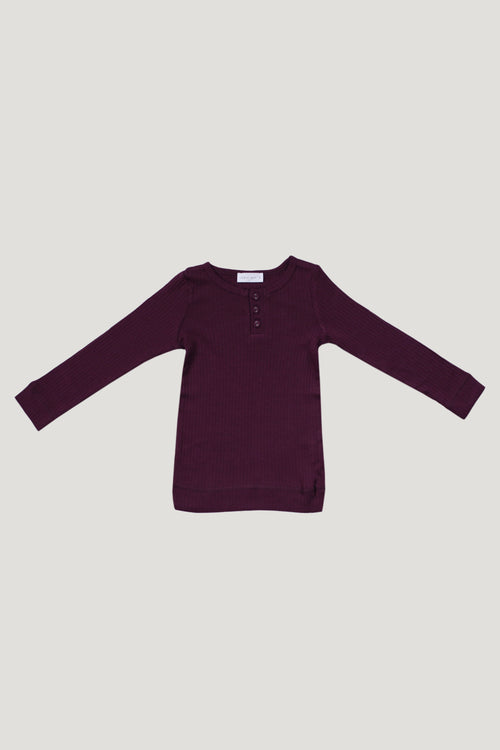 Original Cotton Modal Henley - Fig