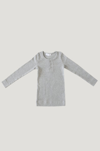 Original Cotton Tee - Light Grey Marle