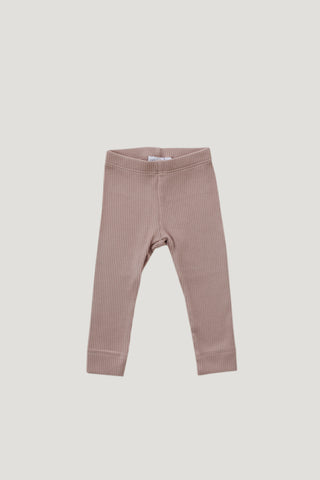 Original Cotton Legging - Light Grey Marle