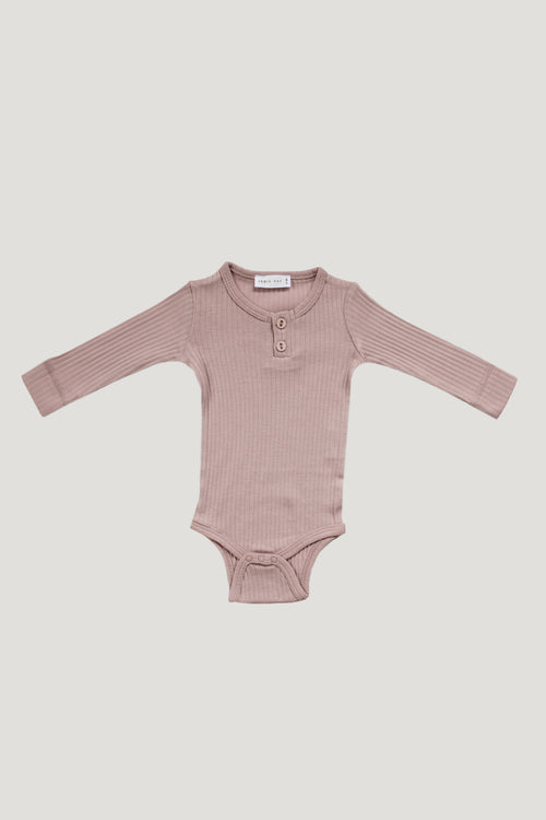 Original Cotton Bodysuit - Rosy