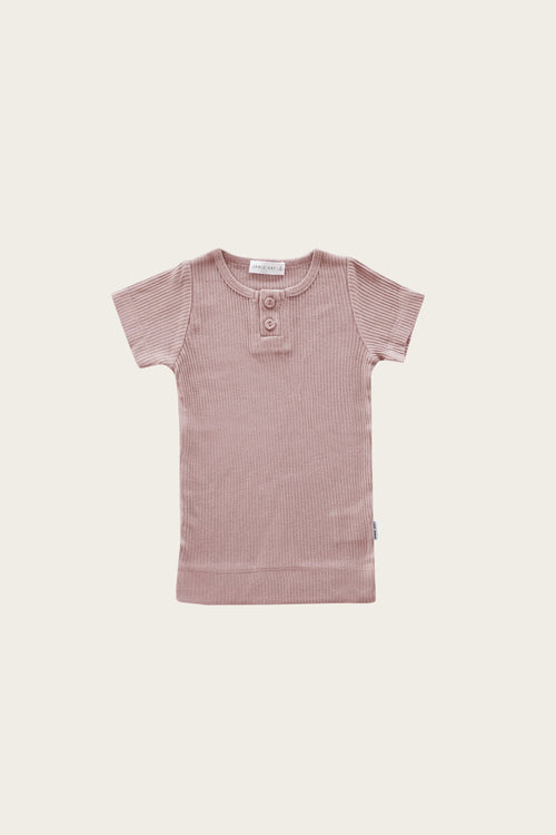 Original Cotton Modal Tee - Rosy