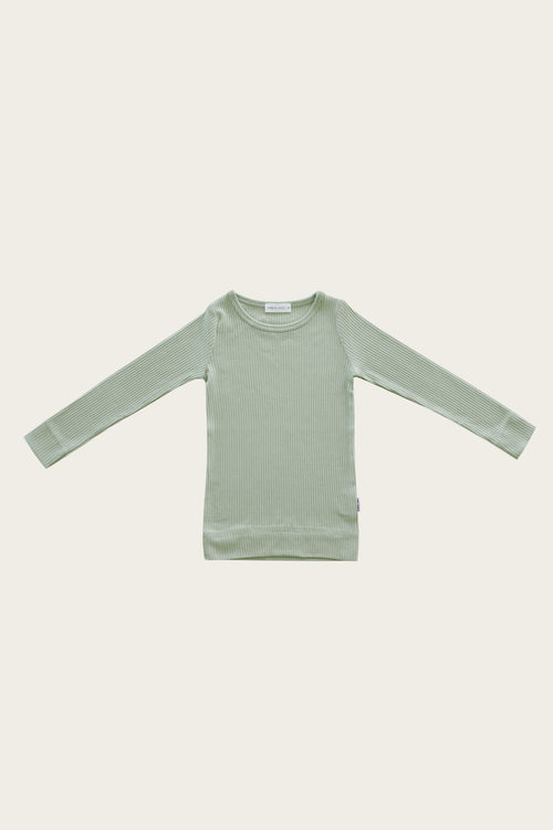 Original Cotton Modal Essential Top - Sage
