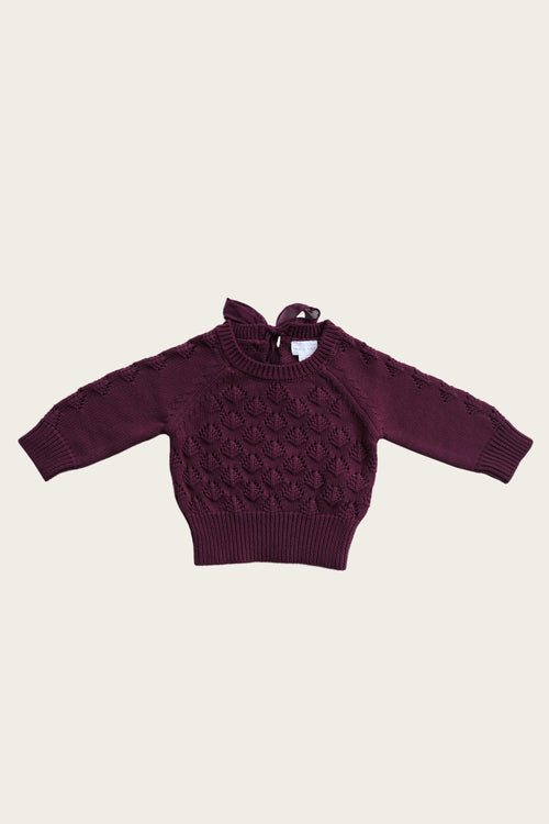 Sienna Knit - Fig