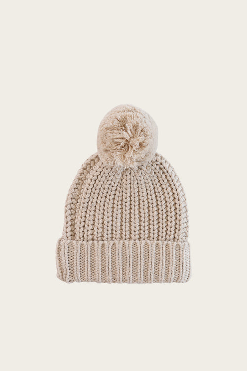 Cosy Hat - Oatmeal Marle
