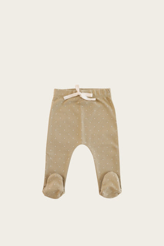 Organic Essential Leggings - Oatmeal Marle