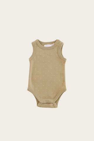 Organic Cotton Frill Bodysuit - Berry Fizz