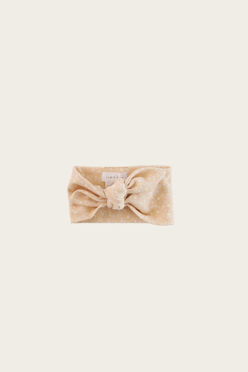 Organic Cotton Headband - Meadow Floral