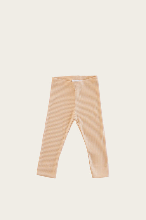 Organic Essential Leggings - Cookie