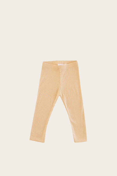 Organic Essential Leggings - Honey Peach