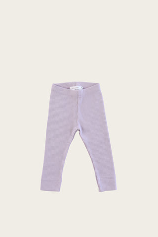 Organic Essential Leggings - Grape