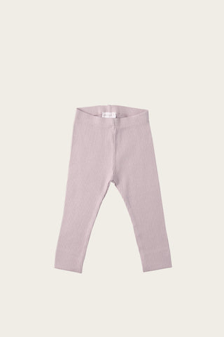 Organic Essential Leggings - Light Grey Marle