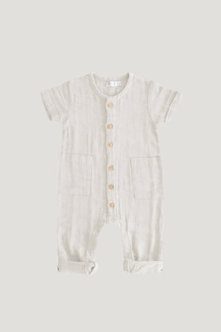 Organic Cotton Frill Bodysuit - Rose Floral