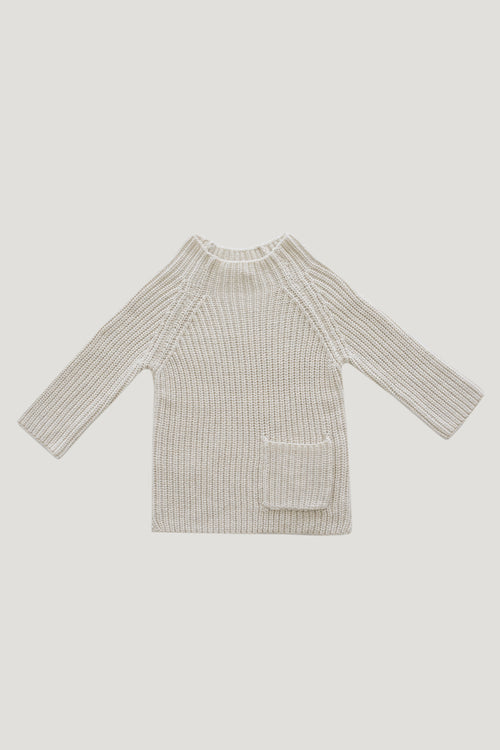 Riley Knit - Oatmeal Marle