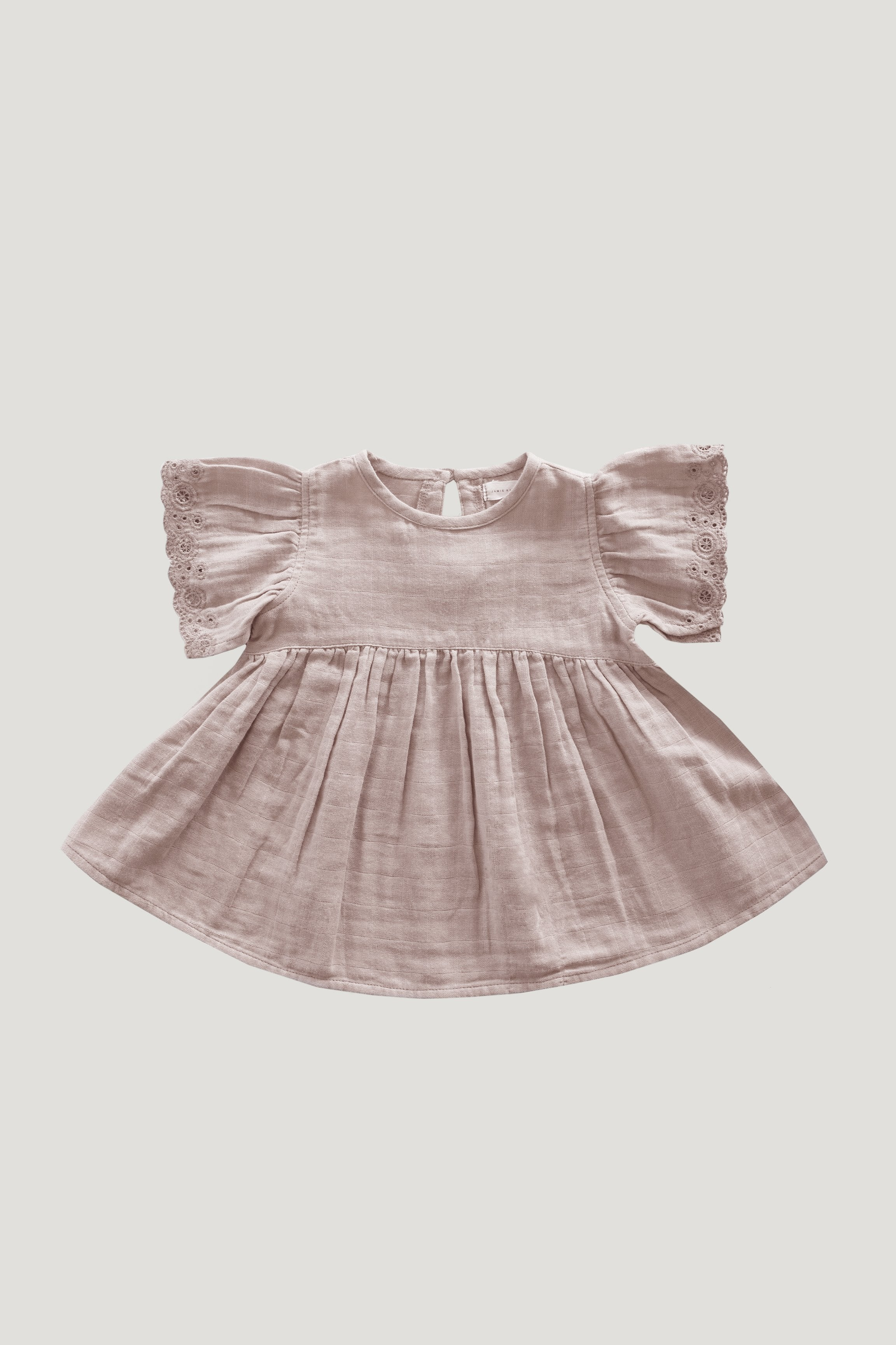 Organic Cotton Muslin Chloe Dress - Bloom