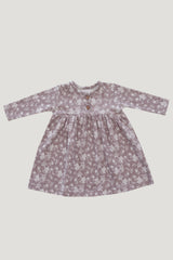 Organic Cotton Dress - Fawn Floral