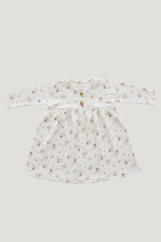 Organic Cotton Ada Dress - Sadie Floral