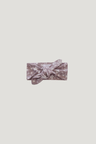 Aela Velvet Hair Tie - Raspberry Ice