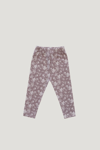 Organic Cotton Legging - Sweet William Floral