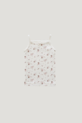 Organic Cotton Muslin Lola Dress - Rosebud
