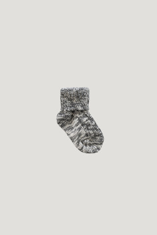 Stripe Sock - Ink/Cloud