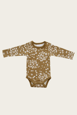 Singlet Bodysuit - Winter Floral
