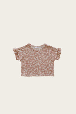 Organic Cotton Muslin Sammie Top - Graphite