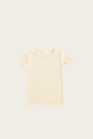 Dotty Knit - Apricot Fleck