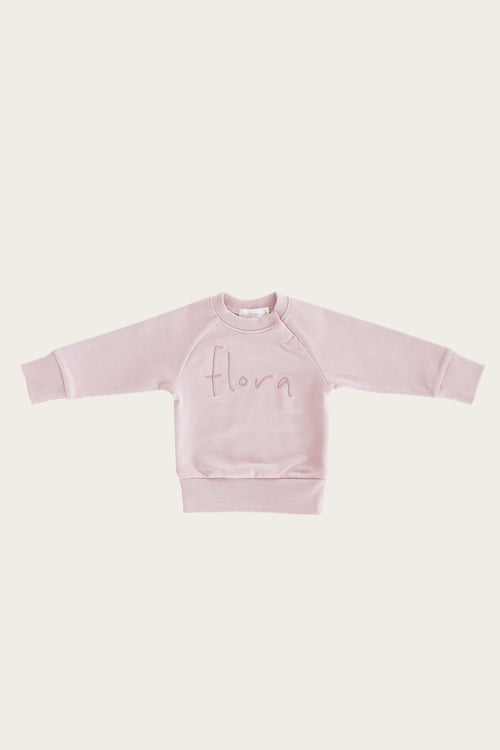 Flora Sweatshirt - Old Rose