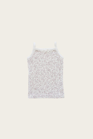 Slub Cotton Fleur Top - Bonnie Floral