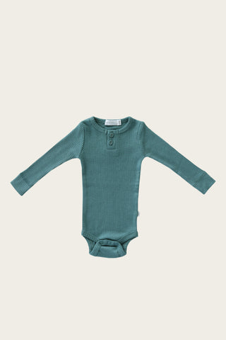 Organic Essential Long Sleeve Top - Dusk