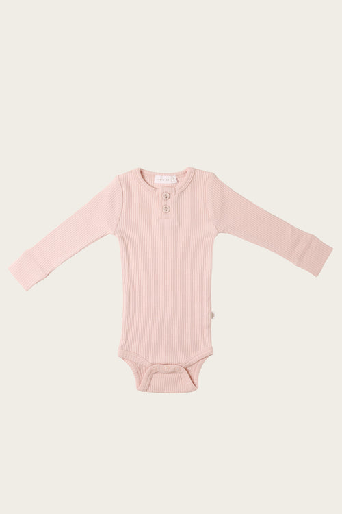 Organic Essential Bodysuit - Rosebloom