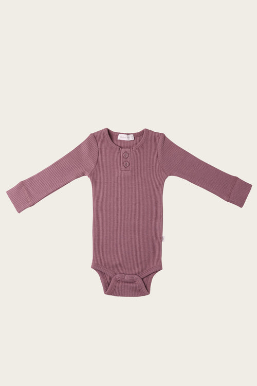 Organic Essential Bodysuit - Woodrose