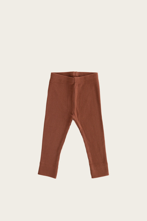 Organic Essential Leggings - Copper