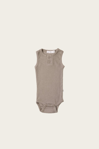 Organic Essential Bodysuit - Honey Peach