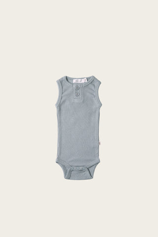 Organic Cotton Bib - Forget Me Knot
