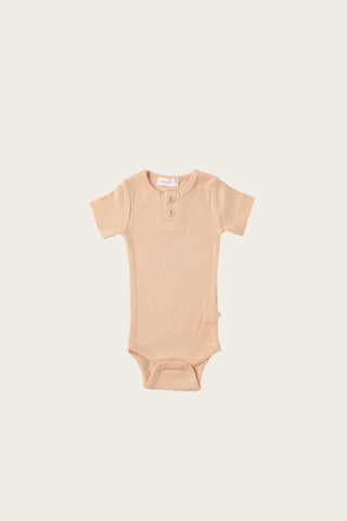 Organic Essential Bodysuit - Old Rose