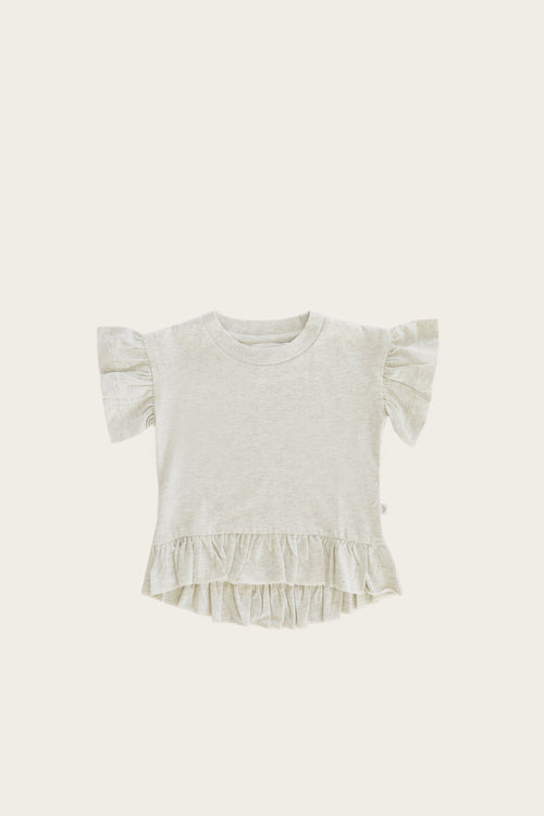 Organic Cotton Eden Top - Linen