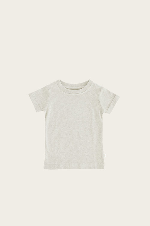 Organic Cotton Sam Tee - Linen