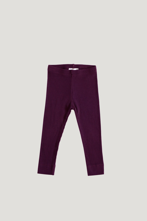 Cotton Modal Legging - Fig