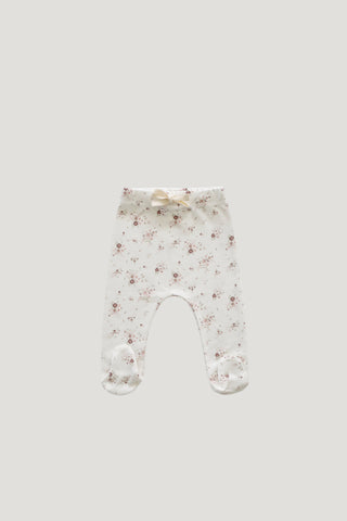Organic Cotton Legging - Bloom Lulu Floral