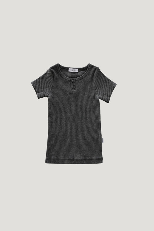 Original Cotton Tee - Dark Grey Marle