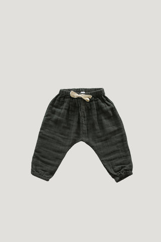 Organic Cotton Interlock Alex Pant - Dusk
