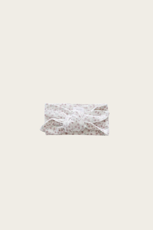 Organic Cotton Headband - Posy Floral