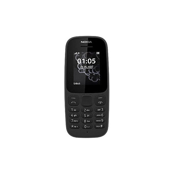 Nokia 105 Single Sim Phone - Black