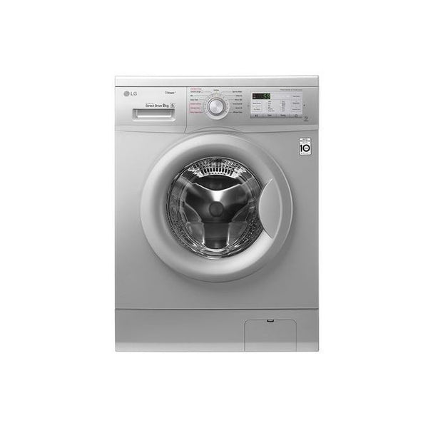 LG Washing Machine 9kgs, FH4G6VDYG6 - Silver